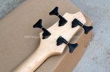 Гитара нот/4-String Hanhai электрическая басовая с красным телом