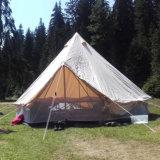 Tende di Bell di campeggio della famiglia della tela di canapa del cotone di Cuatomized