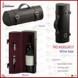 Doos van de Wijn van de douane de Enige Rond gemaakte (5454)