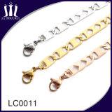 Colar quente da jóia do aço inoxidável da forma da venda