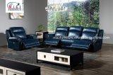 Insieme domestico del sofà del cuoio del Recliner del teatro di combinazione della mobilia