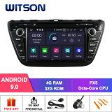 Huit Witson Core Android 9.0 DVD de voiture pour Suzuki 2014 Cross 4G 1080P ROM écran tactile 32 Go ROM écran IPS