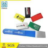 Bracelets de contrôle d'accès avec les courroies réglables de crochet et de boucle