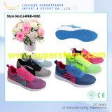 Femmes occasionnelles de chaussures de course d'espadrilles de sport de chaussure de maille