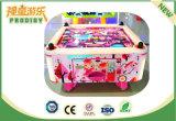Máquina de jogo quadrada da arcada da tabela do hóquei do ar do cubo para miúdos