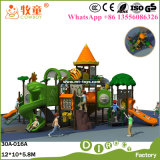 子供のプラスチック屋外の演劇装置の公園のための屋外の演劇の構造