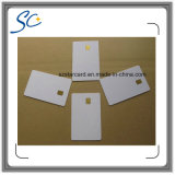 Cr80 RFID PVC Contact IC Smart Card com FM5528 Chip