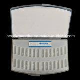 Parentesi dentale di alta qualità, parentesi di ceramica dello zaffiro con la FDA del Ce