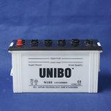 Die Standard Qualität JIS trocknen belastete N100 12V100ah Speicher-Autobatterie