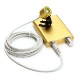 치과 외과 의학 두눈 루페 Alisa를 위한 휴대용 황색 LED 맨 위 가벼운 램프