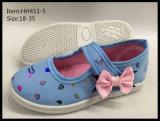 De recentste Schoenen van het Canvas van de Kinderen van het Ontwerp dansen Schoenen (hh411-5)
