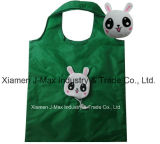 Bolso plegable de Eco-Friendly de las compras, estilo animal del perro, reutilizable, bolsos del ultramarinos y práctico, promoción, ligero, accesorios y decoración