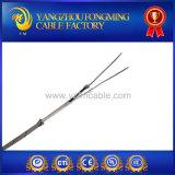 2 Core T thermocouple de type de câble haute température