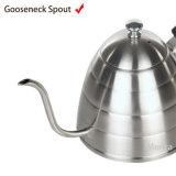 L'acciaio inossidabile 304 versa sopra il POT del tè del POT del caffè
