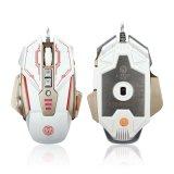 Mäusespiel des Metallentwurfs-8 mechanische der Tasten-LED (M-A30)