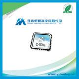 Única microplaqueta do circuito integrado transceptor CI Nrf2401AG de 2.4 gigahertz