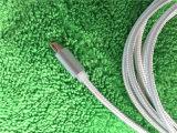 Кабель заряжателя USB микро- нейлона разъема поручая для iPhone