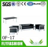 meubles de bureau confortables de sofa de la salle de séjour of-17 d'unité centrale de grand dos en cuir moderne de sofa