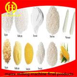 Riga di macinazione farina del mais della piccola scala dell'Uganda di cereale che fa macchina per la fabbricazione del laminatoio del Ugali Posho