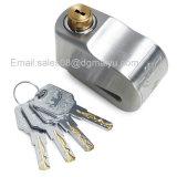 Universeel het schijf-Slot van het Slot van de Rem van de Schijf van Roestvrij staal 304 Anti-diefstal alarm-Slot