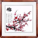中国の古典はレストランの使用のための壁絵画を壁取付ける