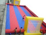 Seifen-Wasser-Fußballplatz-aufblasbarer Fußballplatz für Verkauf