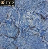 Mattonelle lustrate blu 83002 della porcellana di effetto del Di ceramica-Marmo di Fyd