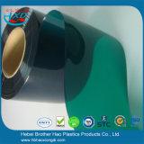 Deur van het Scherm van het Lassen van pvc van het Zonlicht van de Rang van het voedsel de Donkergroene Vlotte Plastic Vinyl