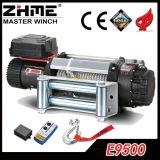 12V 9500lbs 4X4는 전기 윈치를 방수 처리한다
