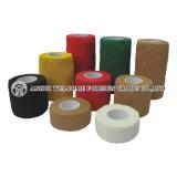 Colore di pelle flessibile coesivo della fasciatura del cotone