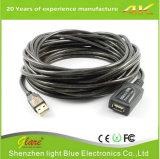 USB 2.0 de Actieve Uitbreiding van de Hoge snelheid/de Kabel van de Repeater
