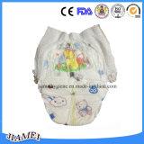 Pannolino a gettare del bambino del cotone con nastro adesivo magico di S-Figura