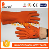 Doublure 2017 de bande de jet d'IMMERSION de gants en caoutchouc de latex de Ddsafety