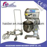 Cocina de la panadería que cocina el mezclador planetario 40L del equipo