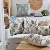 Постельное белье из хлопка подушки печати обложки для бросать подушками кровать зазор