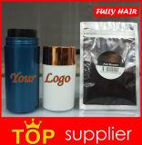 Polvere di ispessimento dei capelli della cheratina della generazione del Brown completamente dei capelli delle fibre nere della costruzione seconda