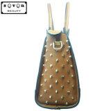 Signora di cuoio Handbags (90018#) della spalla del Brown di modo