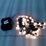 Outdoor Gardon Luminosidade decorativa LED Serial String Rope Lights