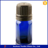 Garrafa de óleo essencial de vidro claro de 30 ml com tampa de prova e tamper prova