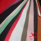 Tissu Chiffon de polyester noir pour l'usure de femme