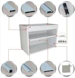 De klassieke Keukenkasten br-Alk002 van het Aluminium van de Stijl