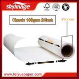 "24"" *100m Anti-enroscamiento Fw 100Gramo Rollo Papel de Transferencia de Sublimación para Impresión Textil"
