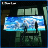 Parete trasparente di colore completo LED video per l'introduzione sul mercato di marca delle facciate