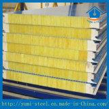 PU-Dichtungs-Felsen-Wolle-Metallzwischenlage-Panel für Kühlraum