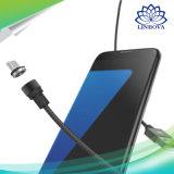 둥근 자석 이동 전화 케이블 iPhone를 위한 마이크로 USB 유형 C 빠른 비용을 부과 충전기 5 5s Xiaomi Samsung Huawei Meizu 플러스 7 6 6s