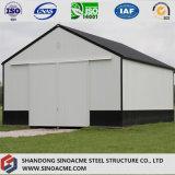 Sinoacmeは門脈フレームの鉄骨構造の小屋を組立て式に作った