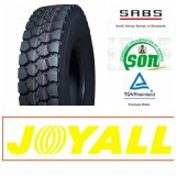 11.00r20 Joyall 상표 광선 트럭 타이어, TBR 타이어 및 타이어