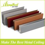 Soffitto di alluminio del deflettore di colore di legno di 2018 schiocchi
