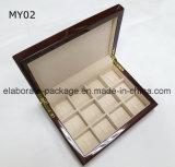 Gloss Finish High Quanlity caixa de jóias de madeira caixa de jóias