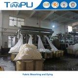 Cubierta de colchón retardada fuego Anti-Pilling orgánico, insignia modificada para requisitos particulares del telar jacquar
